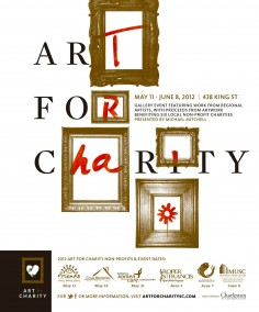 Art For Charity Poster